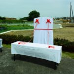 「桜川碑」除幕式、茨城県水戸市、水戸桜川千本桜プロジェクト、記念碑