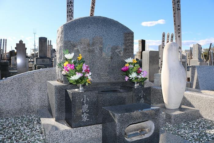 小鹿家墓石