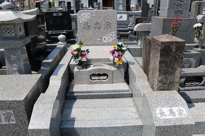長嶋家墓石写真2