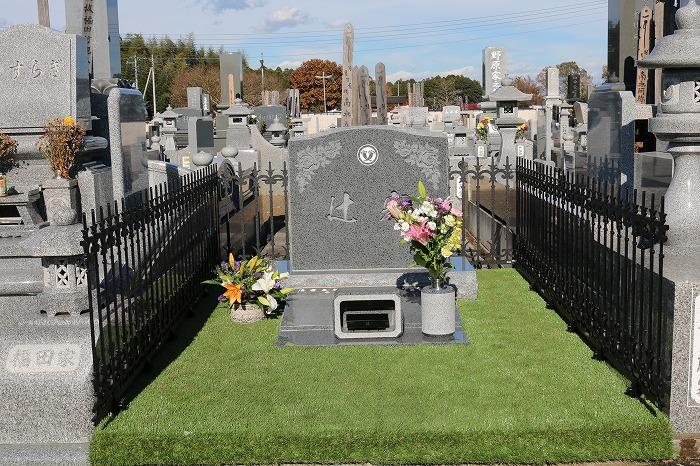 お墓の写真