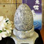 思わず合掌したくなる墓石型オブジェ 茨城県 水戸市 お墓 石材店